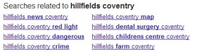 hillfields search